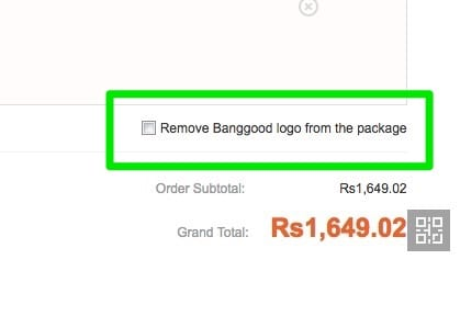 banggood India customs
