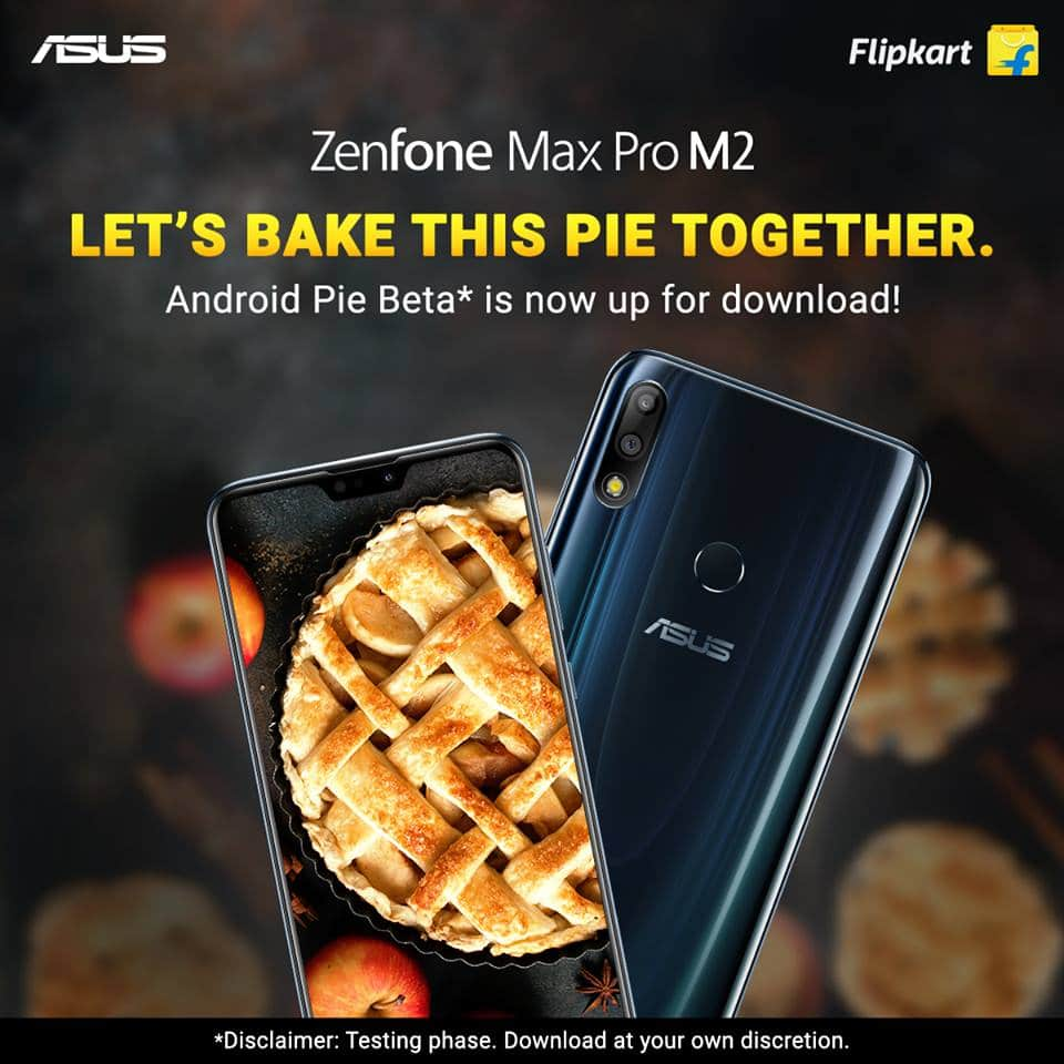 Asus Rolled Out the Android Pie Beta For Zenfone Max Pro M2
